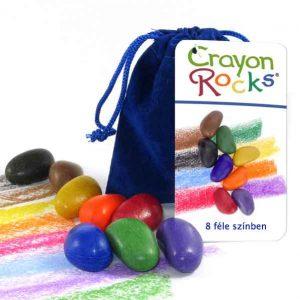 Crayon Rocks 8 színes kavicskréta zsírkréta